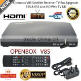 OPENBOX V8S TV BOX Full HD TV 1080p Digital Freesat PVR Satellite Receiver Set-Top Box