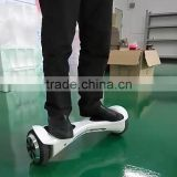 2016 Latest original hover board 2 wheels with composite aluminium alloy pedals