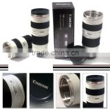 NEW EF 1:1 70-200mm Camera Lens thermos Cup Coffee Stainless Steel Mug Cup