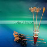 Guangzhou manufacturer suppliers disposable PS swizzle sticks drink stirrers Acrylic pub tools