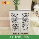 Home-GJ foldable furniture foldable high gloss shoe cabinet in wood