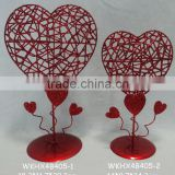 wholesale Red wedding cheap decorative metal lanterns