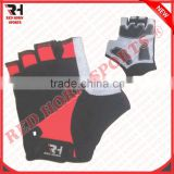 Mountain Bike Gloves Gel Padded, Anti-Slip Anti-Shock Fingerless Gloves