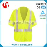 100% polyester high visibility 3M Scotchlite Reflective Material 3M reflective safety jacket