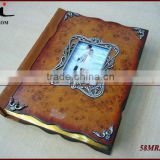 2014 New Custom Wedding Wood Photo Album Book Cover,Wooden Picture Album Book Cover