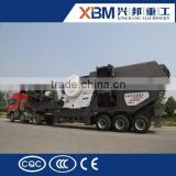 High performance small mobile crusher /mobile crusher for aggregates with competitive pice