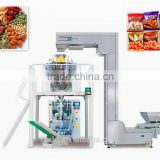 packing assembly line snack food vertical complete full automatic packaging machine high out put