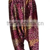 Silk Ladies Harem / Pants / Trouser Women Aladdin Floral Hippie Boho Paints Casual