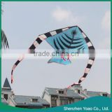 Alibaba Wholesale Long-tailed Swallow Fish Shape Cheap Kites