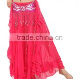 SWEGAL Sexy women professional belly dance skirt,wholesale belly dance hip scarves SGBDS13016