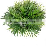2016 newest manufacture wholesale artificial leaves bunch plastic plant fake flower for indoor decoration
