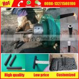 Low investment finger coal briquette extruder machine for smoking shisha hookah