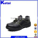 cheap groundwork safety shoes cheapest men's steel toe safety shoes Cow split leather