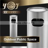 Stainless Outdoor Floor Standing Cigar Windproof Table Ashtray