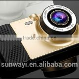 Wholesale price infrafed mini camera car dash camera dual lens 5.0Inch Android Allwinner A33 chip