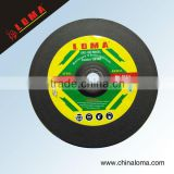 diamond abrasive resin bonded cutting off wheel for marble