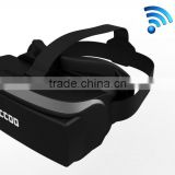 "HICCOO 80"" 3D virtual video eyewear glass1080P smart VR glasses Video Glasses Eyewear Mobile Theater With wifi bluetooth gamepad"