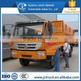 Fully automatic 4 shift transmission sinotruck 2 axles butt joint dump compression garbage truck of best-selling price