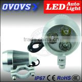 High quality led motorcycle auxiliary lights 15W headlights for car