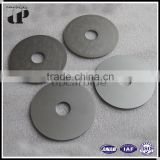 HIP sintered 10% CO,90% WC YS2T OD75*ID25*3.5 fine grain tungsten steel disc milling blade