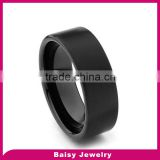 wholesale fashion jewelry 8mm Flat Men's tungsten ring blank
