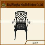 Hot sale! Die sand cast aluminum dining chair patio furniture/hospital furniture from China