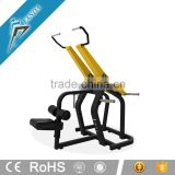 Free Weights Lat Pulldown Machine with Plate Loaded