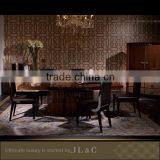 JT08 Antique Trestle Table in Dining Room from JL&C Luxury Home Furniture New Designs 2016 (China Supplier)