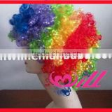 Pretty Colorful Afro Wigs japanese hair wigs Curly Hair Wigs Synthetic Wigs Cheap Party Wig Hot Pink Wigs Synthetic Hair Wigs