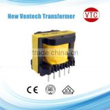 EI25 PCB Mount high frequency electrical power voltage converter transformer by China factory