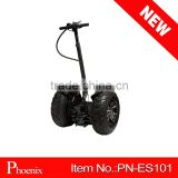 4 wheels adult stand up electric scooter 2016 in black color with CE EMC certificate ( PN-ES101 )