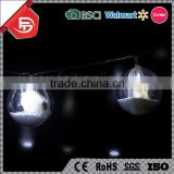 TZFEITIAN garden wedding party cute decoration solar snow falling led christmas string ball light