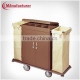 Hotel Room Housekeeping Laundry Cleaning Service Cart Trolley Equipment