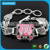 Wholesale Costume Jewelry 2016 Antique Silver Bracelet