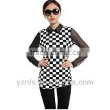Wholesale clothing supplier fashion 2013 basic shirt for women blouse