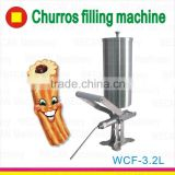 High Quality Churros Filler/Fill Machine/Spanish Churros Filling Machine with Churros Recipe/Nutella Filler