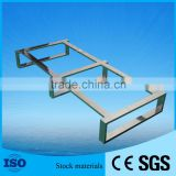 High-grade Polishing Stainless Steel Shoes Display Rack/Shoe Rack Display For Garment Shop