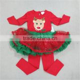 red tutu dresses pants Christmas Baby girls Toddler Clothing
