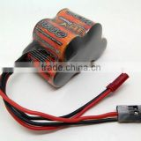 1600mAh 6V battery for HSP / Tamiya / Kyosho / HPI RC car remote controller transmitter radio