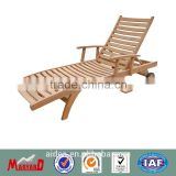 wooden sun lounger+wooden sun lounger