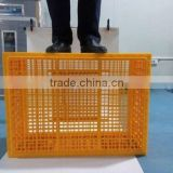 Plastic Circulating transport cage for poultry/cage for transport of chicken/plastic poultry transport cage