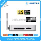 Himedia Q5 pro quad core huawei hisilicon chipset Hi3798cv200 4K60fps OS android 5.1 KODI smart tv box android HDR