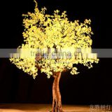 3m Nice artificial warm white led maple tree with design patent