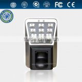 water-proof fingerprint door access control system keypad with ID card function