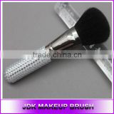 New! JDK Custom Fancy crystal Powder Makeup Brushes, Goat hair Powder brush Diamante Glitter Makeup Brush wholesale