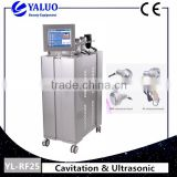 New Ultrasonic RF Vacuum Cavitation weightloss Machine for salon use