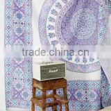 Wholesale Home Decor wall hanging tapestries Cloth Fabric Ombre Indian Mandala Tapestry