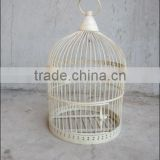 decorative round mini Wire Bird breeding Cage for wholesale