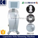 Hifu Liposonix Body Shape Slimming Machine for Face Lifting JBG-S3 with CE Certification