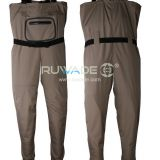 Waterproof breathable chest fishing wader -1
